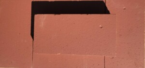 Dark Red Glazed Firebrick