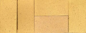 Gold Glazed Firebrick